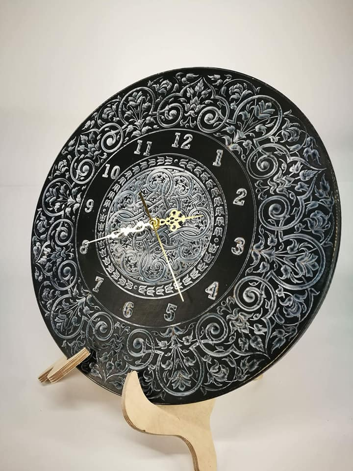 """Sieninis Laikrodis """"Juodasis pranašas"""""""