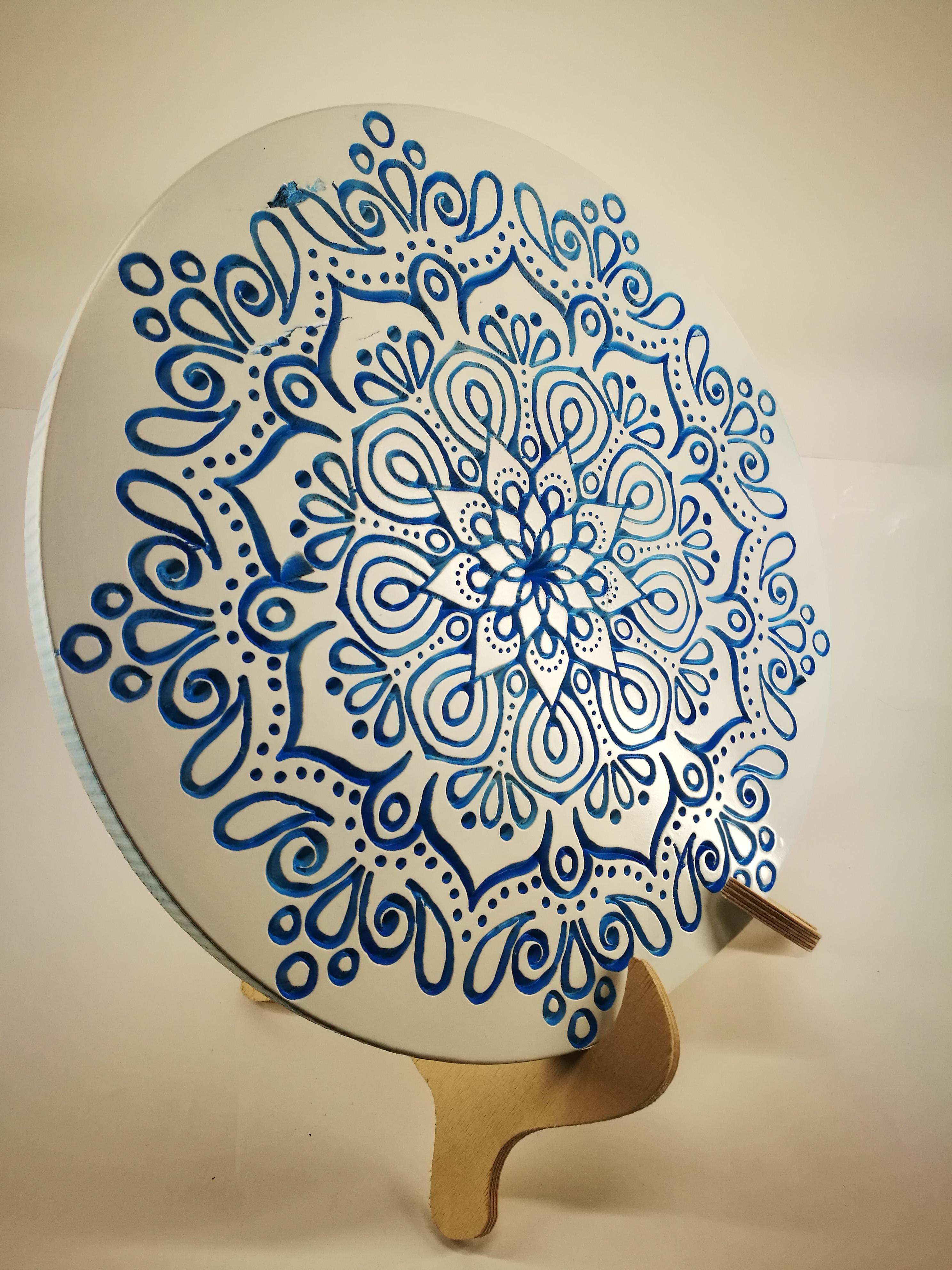 "Interjero dekoracija "" Mandala hipnoze"""