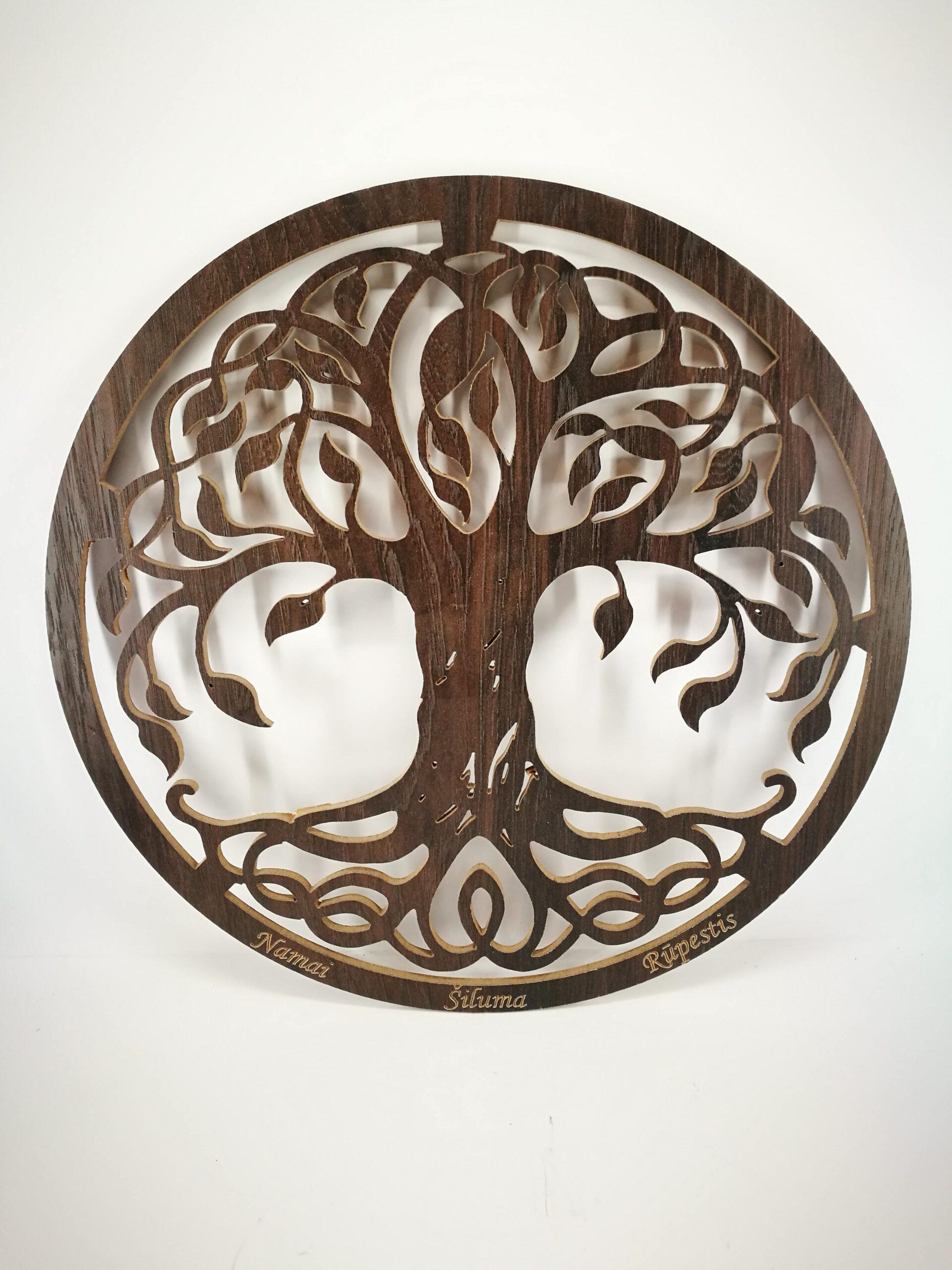 """Interjero Dekoracija """"Gyvybės Medis"""""""