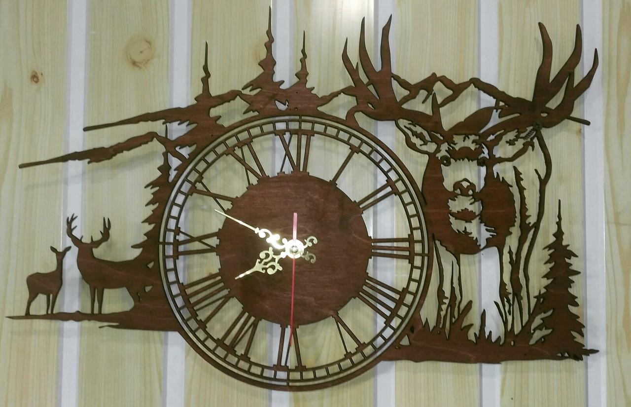 """Sieninis Laikrodis """"Žvėrys Miške"""""""