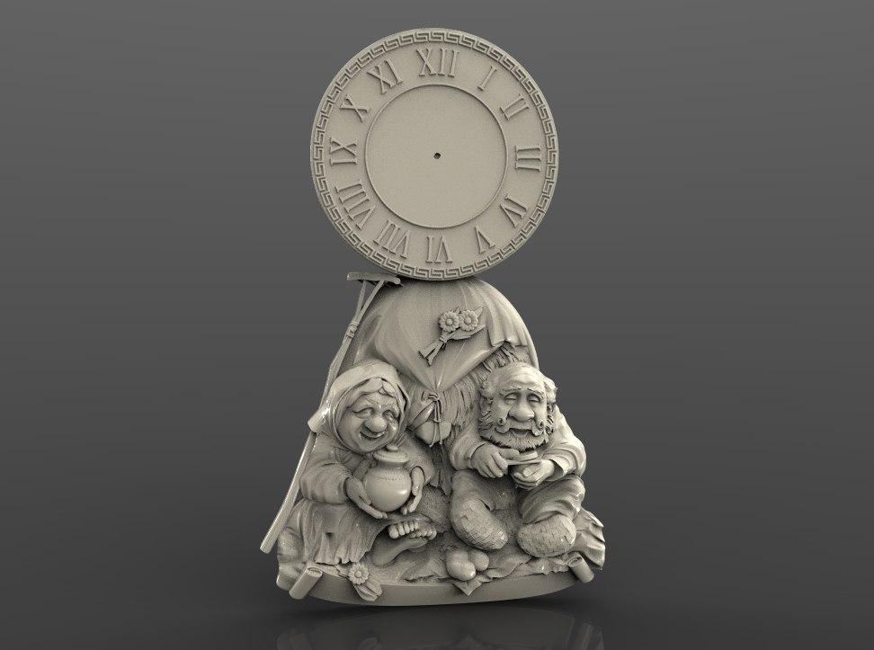 """Sieninis Laikrodis """"Garbus Amžius"""""""