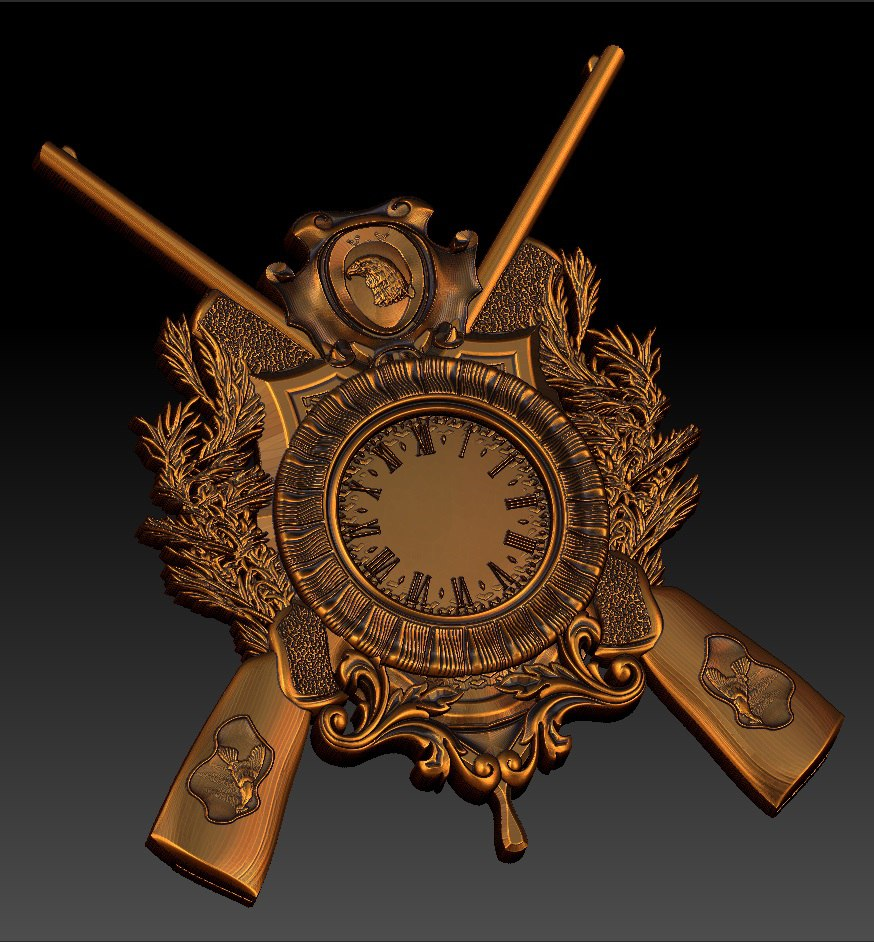 """Sieninis Laikrodis """"Medžioklė"""""""