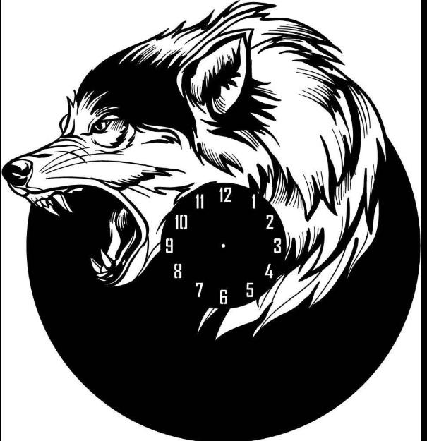 """Sieninis Laikrodis """"Aršus Vilkas"""""""